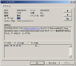イベントID 8021