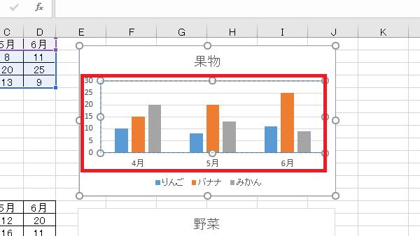 VBAグラフ名前