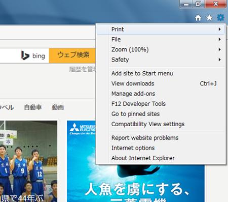 IE11日本語化